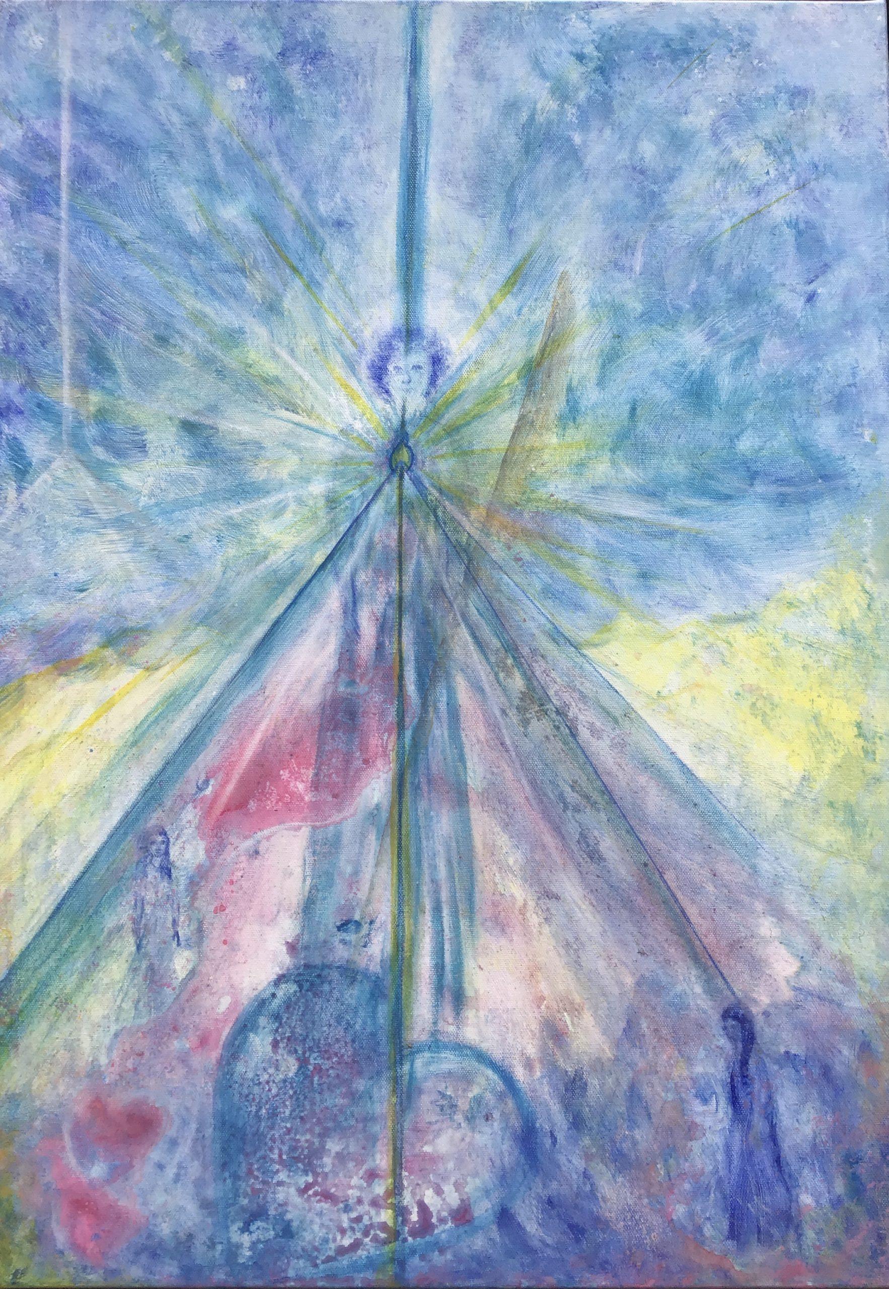 Original Energiebild - Erzengel Michael
