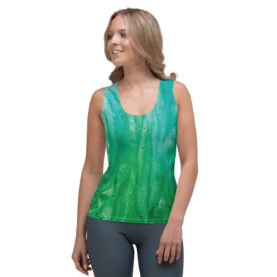 Sublimation-Cut & Sew Tank-Top
