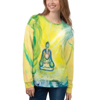 """Unisex Pullover ,,Die Natur des Buddha"""""""