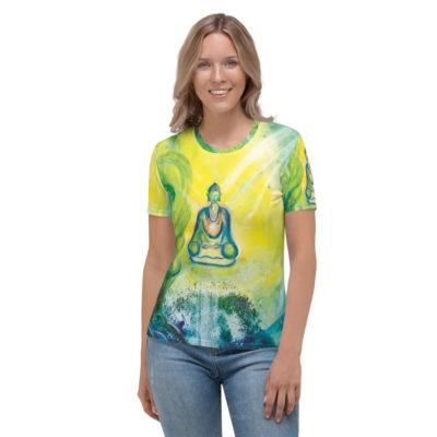 """Damen T-Shirt ,,Die Natur des Buddha"""""""