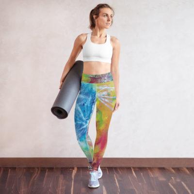 """Yoga-Leggings ,,Die Sprache des Herzens"""""""